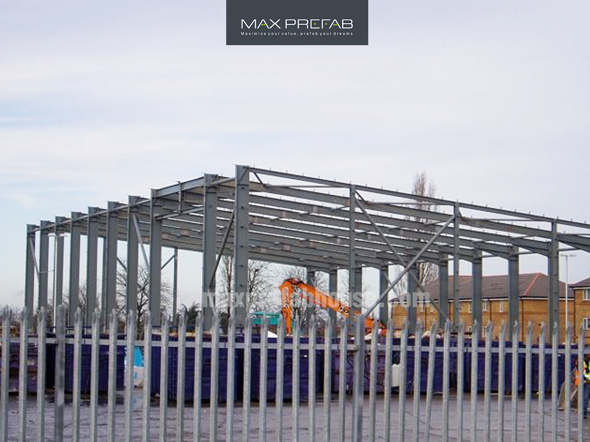 Steel Structure Building SB02